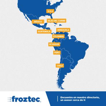 Proveedor de equipo de refrigeracion en latinoamerica
