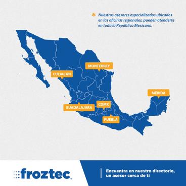Distribucion de productos de refrigeracion en Mexico