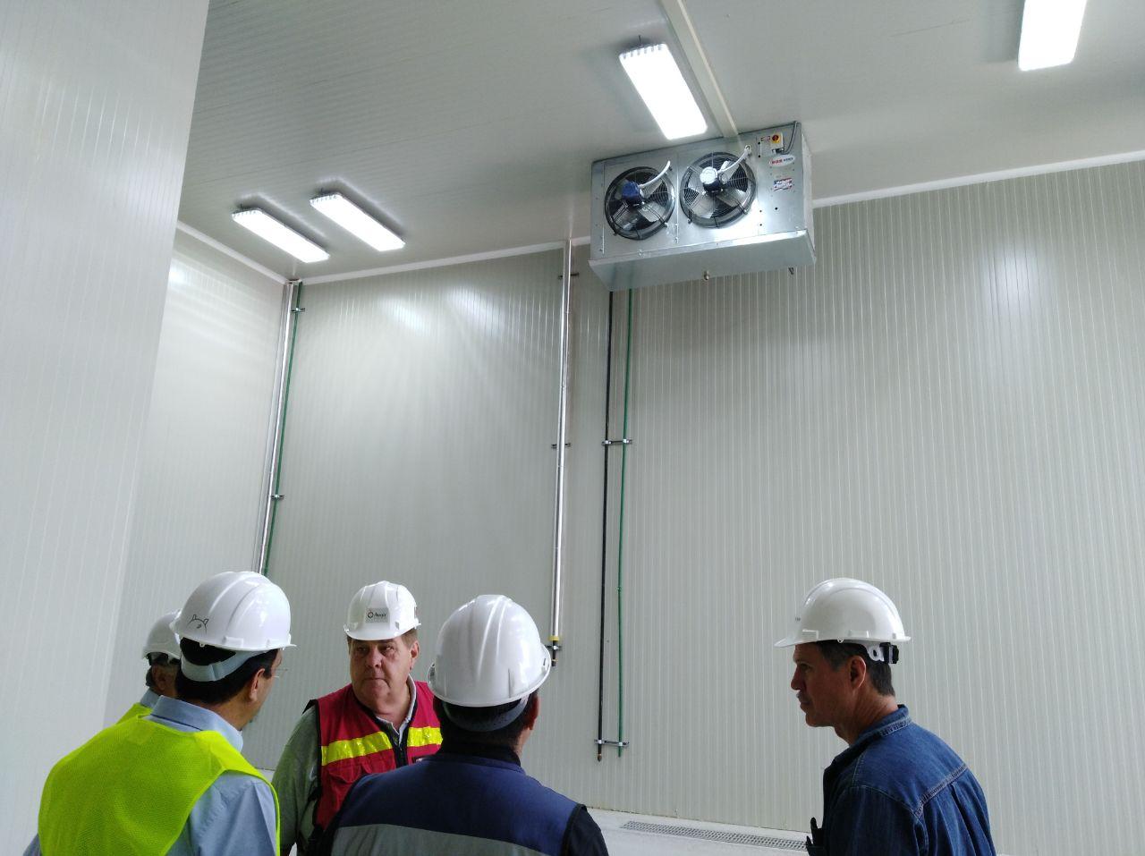 Maintenance plan of a refrigeration system.