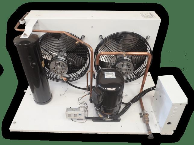 unidad condensadora de la marca krack