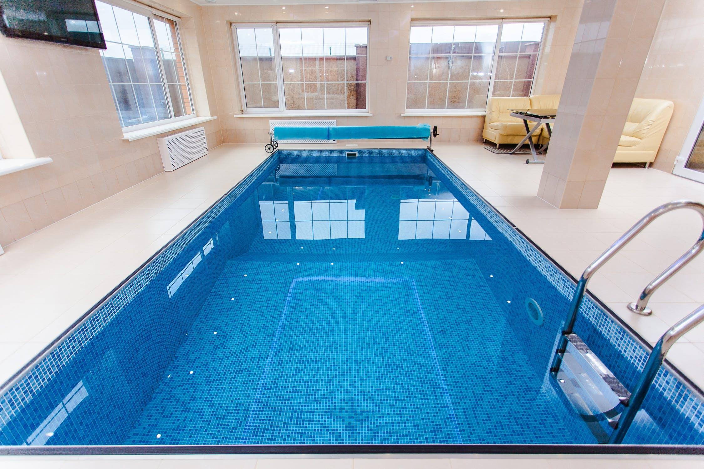 In indoor swimming pools - dehumidifiers