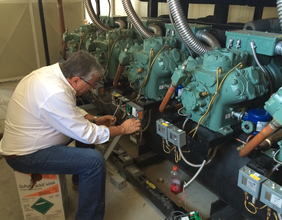 refrigeration equipment maintenance
