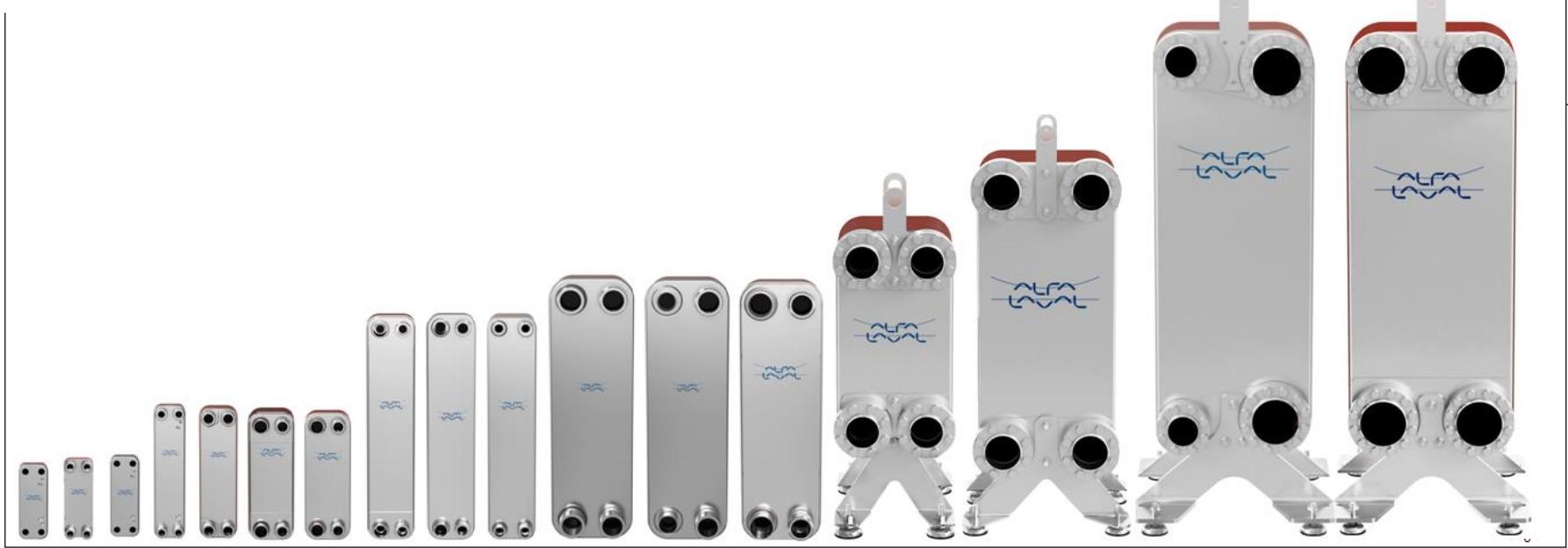 alfa laval welded plate heat exchanger